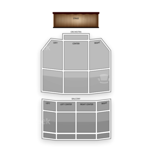 Uptown Theater Seating Chart Classical