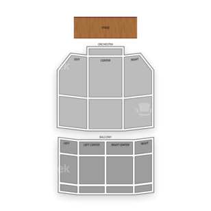 Uptown Theater Seating Chart Concert