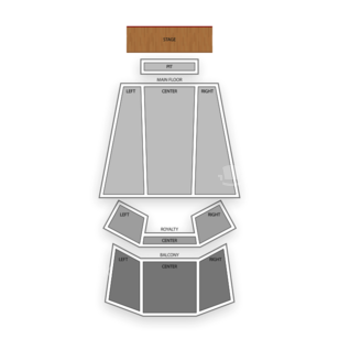 Egyptian Room at Old National Centre Seating Chart Broadway Tickets National