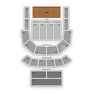 The Tabernacle Seating Chart Classical