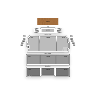 Shubert Theatre - Boston Seating Chart Theater