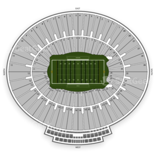 UCLA Bruins Football Seating Chart
