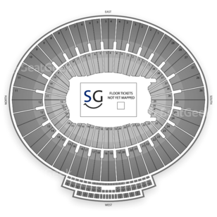 Rose Bowl Seating Chart Theater