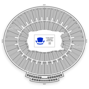 Rose Bowl Seating Chart Music Festival