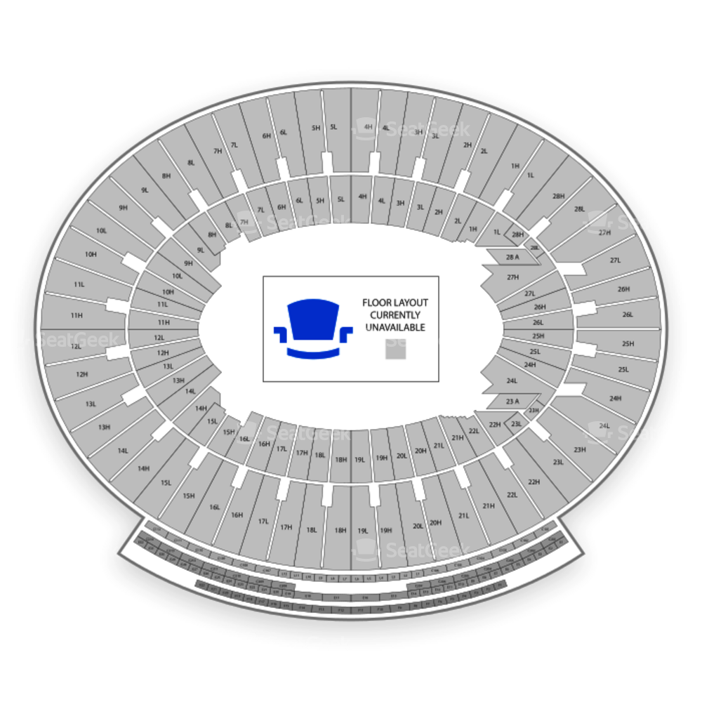 The Rose Bowl Seating Chart Parking