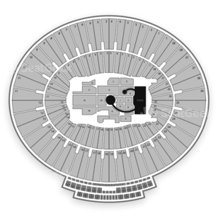 Rose Bowl Seating Chart Concert