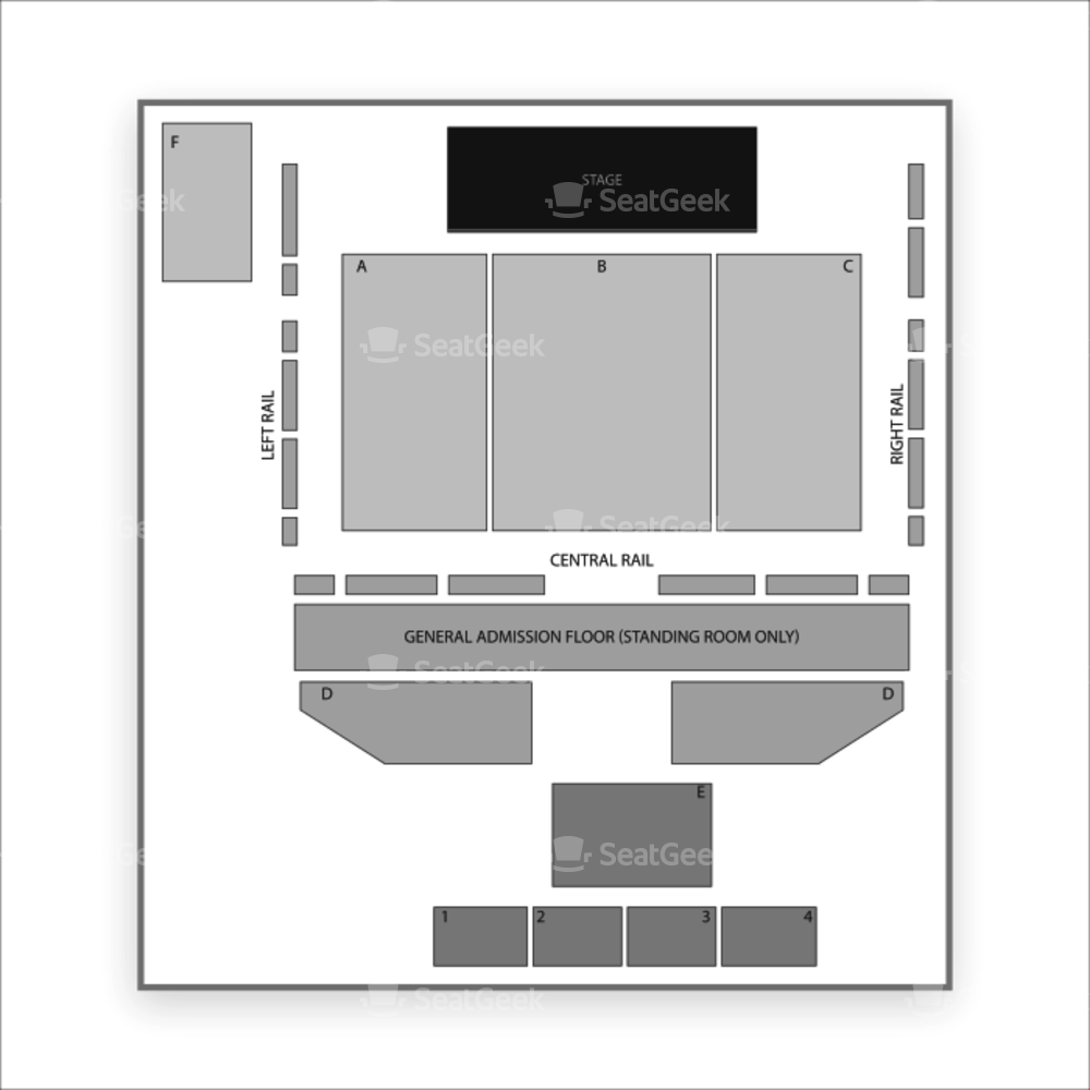 The South Side Ballroom Seating Chart Wwe