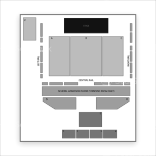 South Side Ballroom Seating Chart Concert
