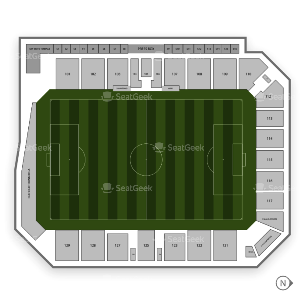 Toyota Field Seating Chart Concert