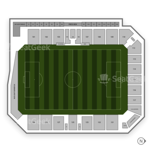 Toyota Field Seating Chart Us Minor League Soccer