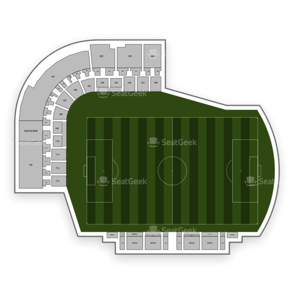 Tampa Bay Rowdies Seating Chart