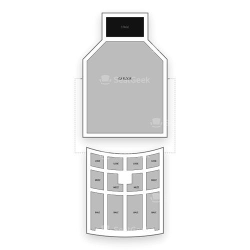 Fox Theater Seating Chart Concert