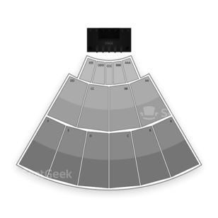 San Diego State Open Air Theatre Seating Chart Concert