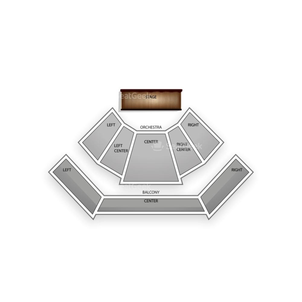 CityStage Seating Chart Concert