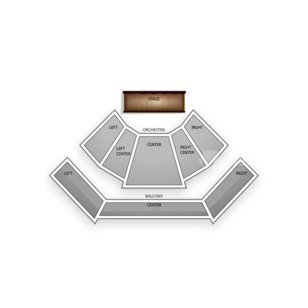 CityStage Seating Chart Theater