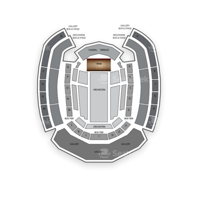 The Palladium Carmel seating chart Vince Gill
