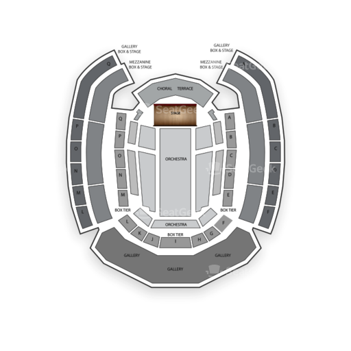 The Palladium Carmel Seating Chart