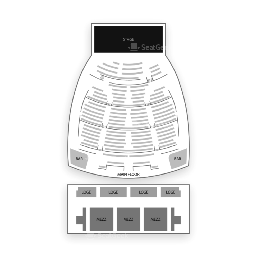 The Wiltern Seating Chart Family