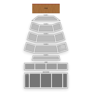 The Wiltern Seating Chart Theater