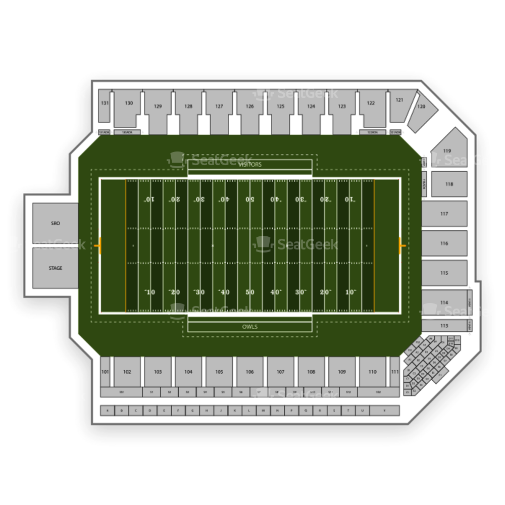 Kennesaw State Owls Football Seating Chart