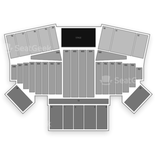 California Mid-State Fair Seating Chart Concert