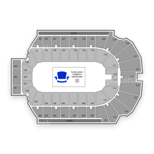 Blue Cross Arena Seating Chart Family