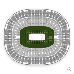 BC Place Stadium Seating Chart NHL