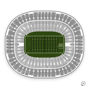 BC Place Stadium Seating Chart Football
