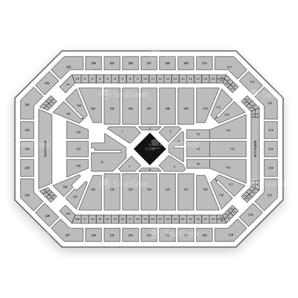 Dickies Arena Seating Chart Concert