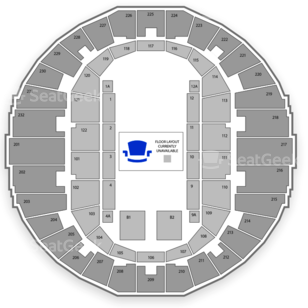 Scope Seating Chart Dance Performance Tour