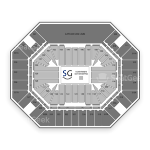 Thompson Boling Arena Seating Chart Family