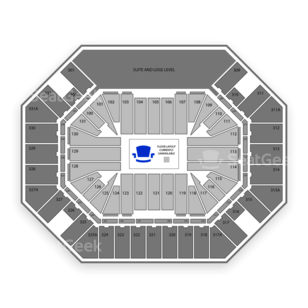 Thompson Boling Arena Seating Chart Parking