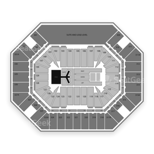 Thompson Boling Arena Seating Chart Concert