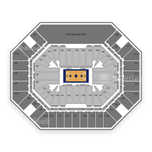Tennessee Lady Volunteers Womens Basketball Seating Chart