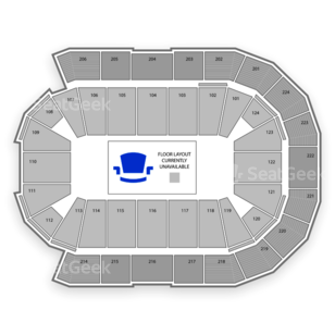 Spokane Arena Seating Chart Parking