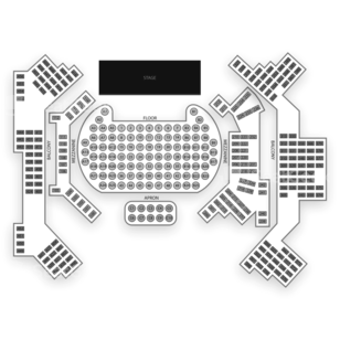 Hollywood Palladium Seating Chart Comedy