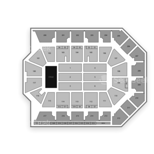 Rabobank Arena Seating Chart Music Festival