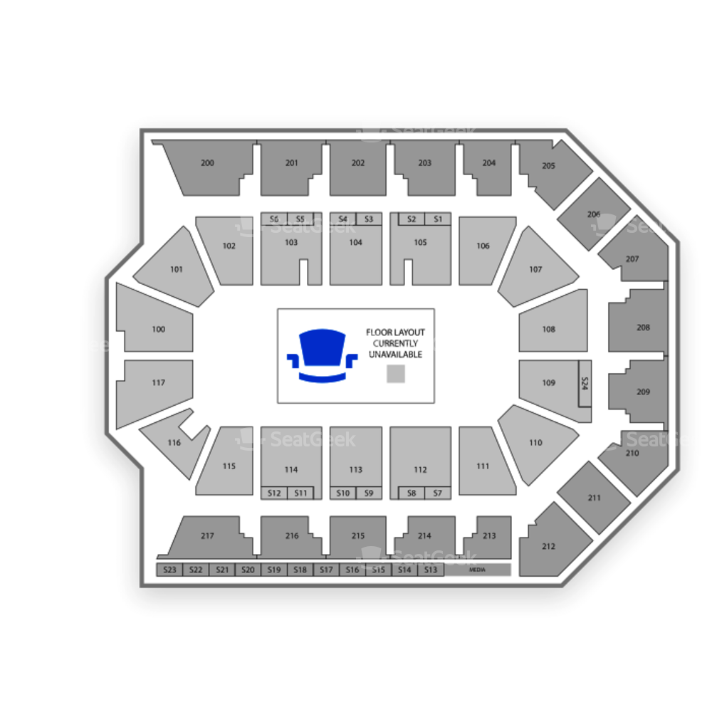 Rabobank Arena Seating Chart Boxing