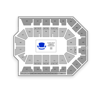 Rabobank Arena Seating Chart Wwe