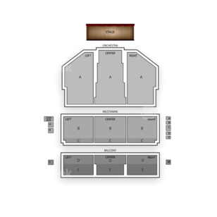 National Theatre Seating Chart Theater