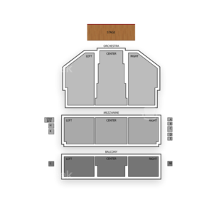 National Theatre Seating Chart Concert