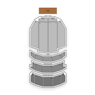 Adler Theatre Seating Chart Theater