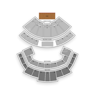 Grand Ole Opry House Seating Chart Comedy