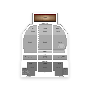 The Broadway Theater - Kingston Seating Chart Concert