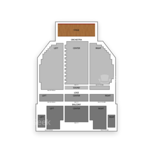 Ulster Performing ARts Centers (UPAC) The Broadway Theater Seating Chart Concert