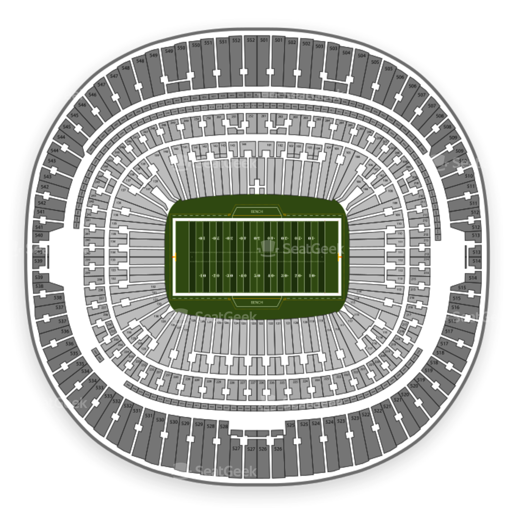 Wembley Stadium Seating Chart NFL