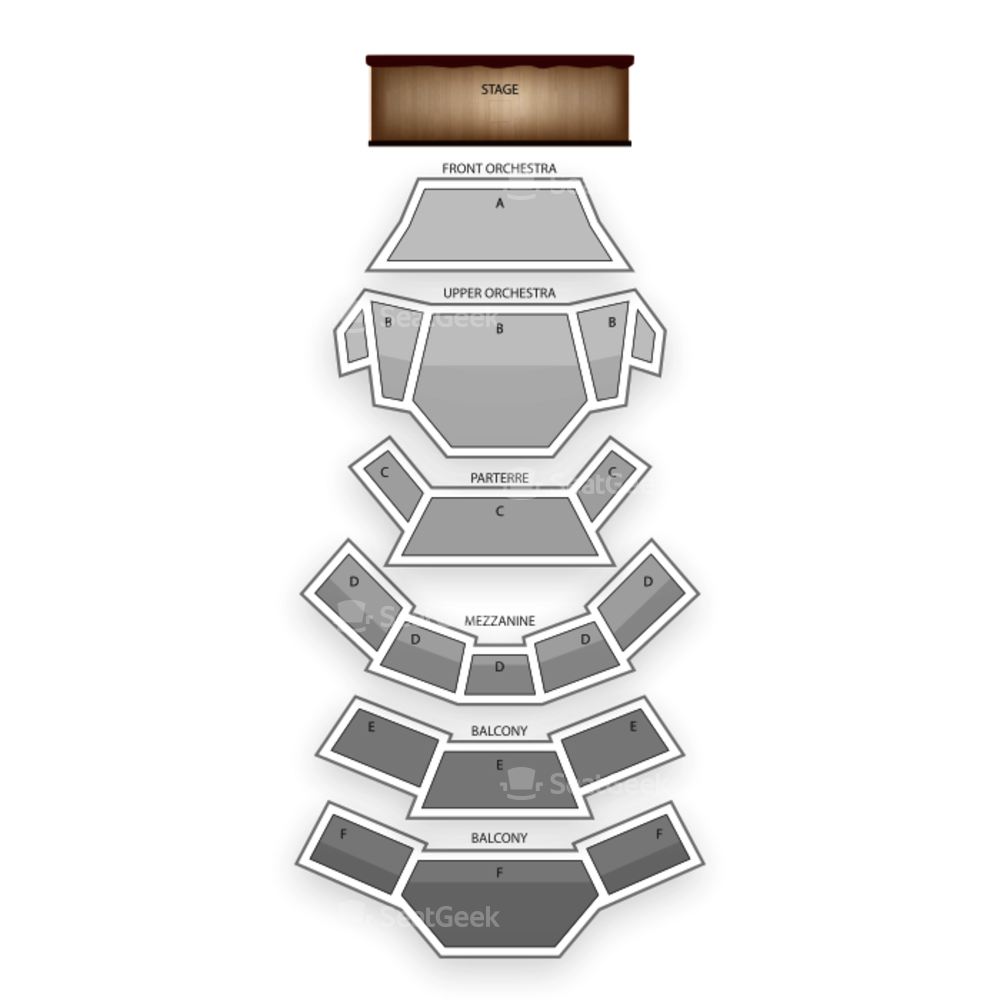 Kauffman Center for the Performing Arts Seating Chart Dance Performance Tour