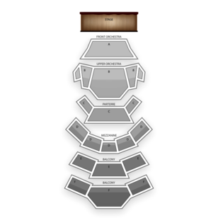 Kauffman Center for the Performing Arts Seating Chart Classical Opera