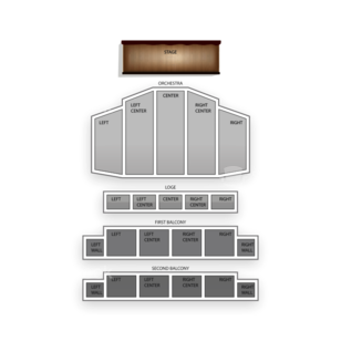 Palace Theatre Seating Chart Concert