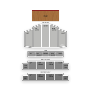 Palace Theatre Seating Chart Comedy